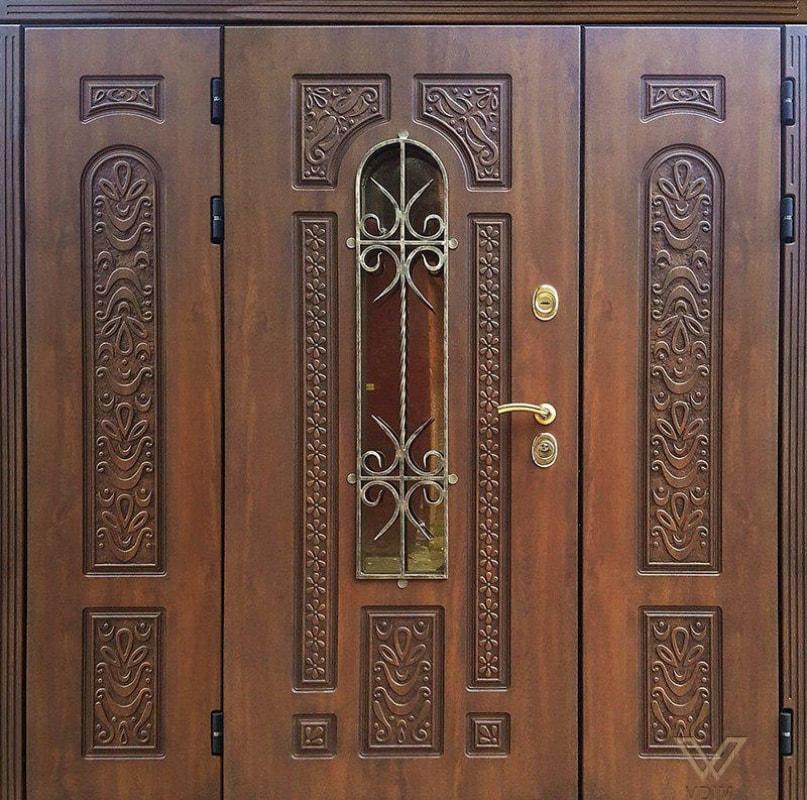 Двері вхідні, трьополі