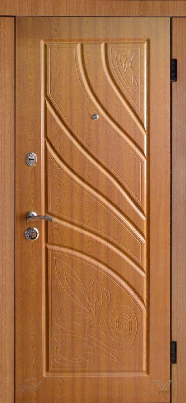 Двері вхідні, МДФ, 860x2050, зовнішні, ліві, №Н-864