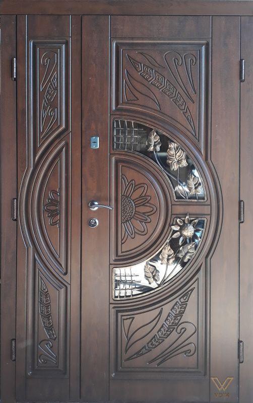 Двері вхідні, МДФ, 1200x2050, зовнішні, праві, №8200760