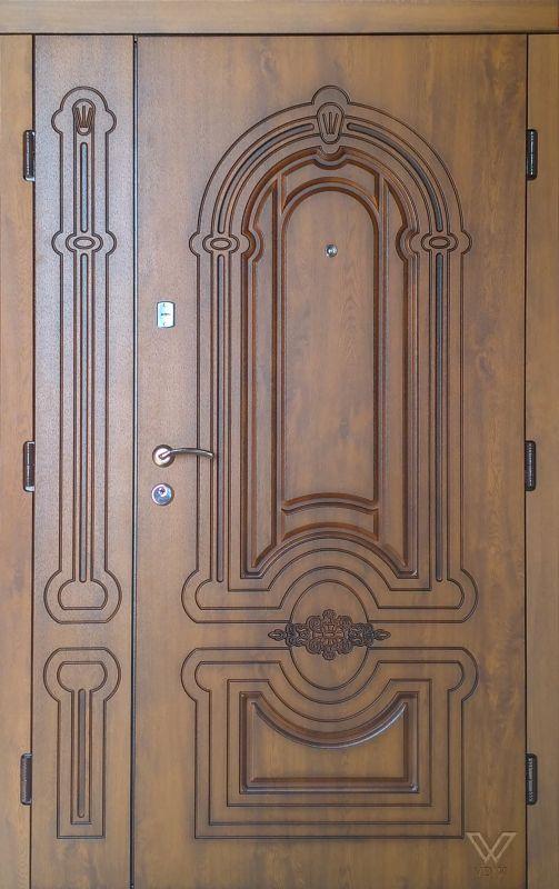 Двері вхідні, МДФ, 1200x2050, зовнішні, ліві, №8200733