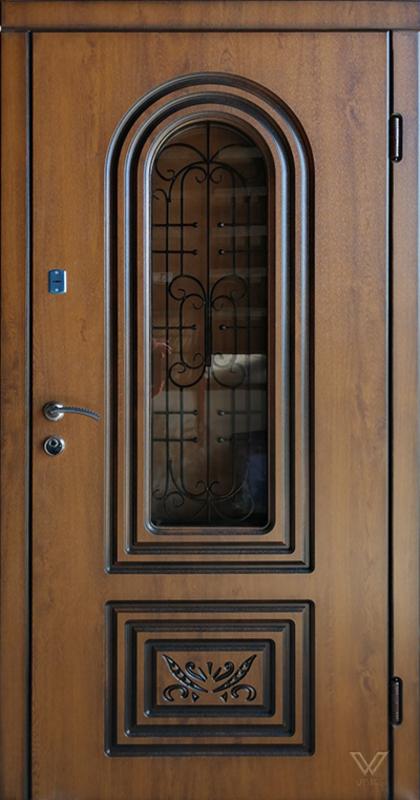 Двері вхідні, МДФ, 960x2050, зовнішні, ліві, №990660
