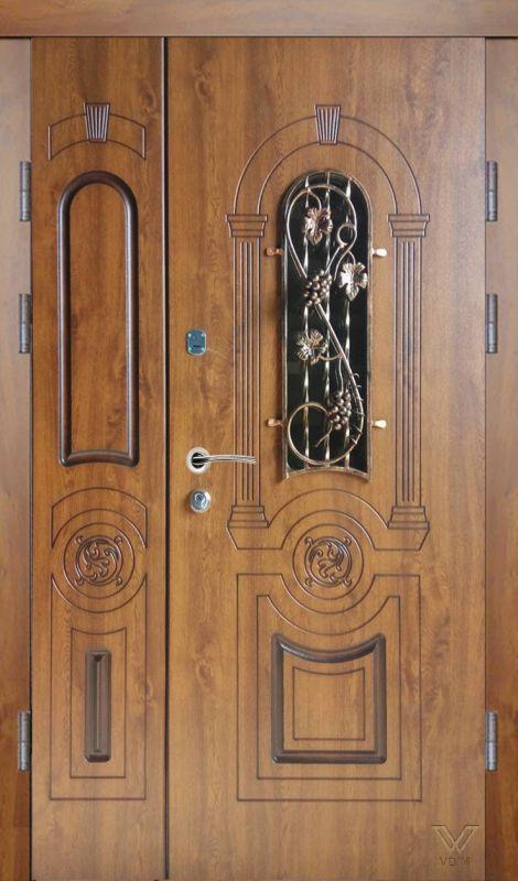 Двері вхідні, МДФ, 1200x2050, зовнішні, ліві, №5200463