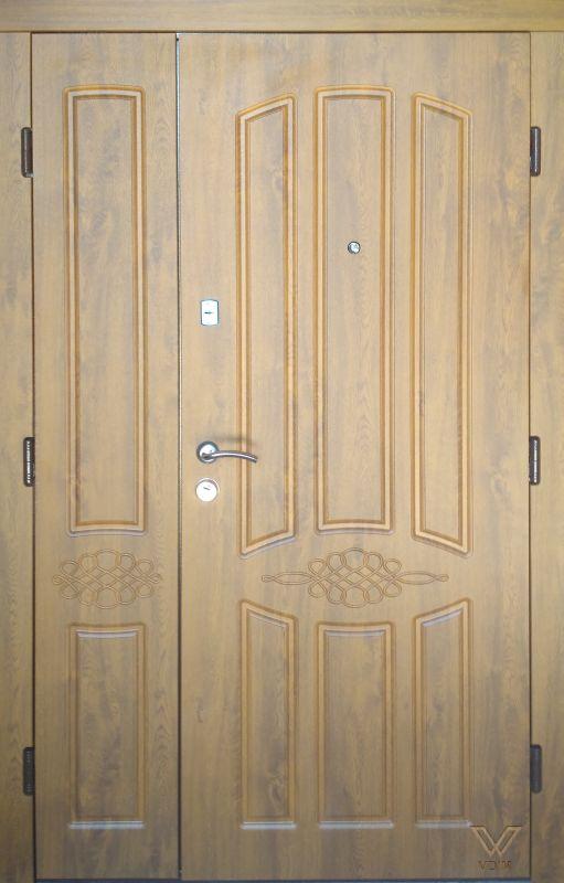 Двері вхідні, МДФ, 1200x2050, зовнішні, ліві, №Н-0496