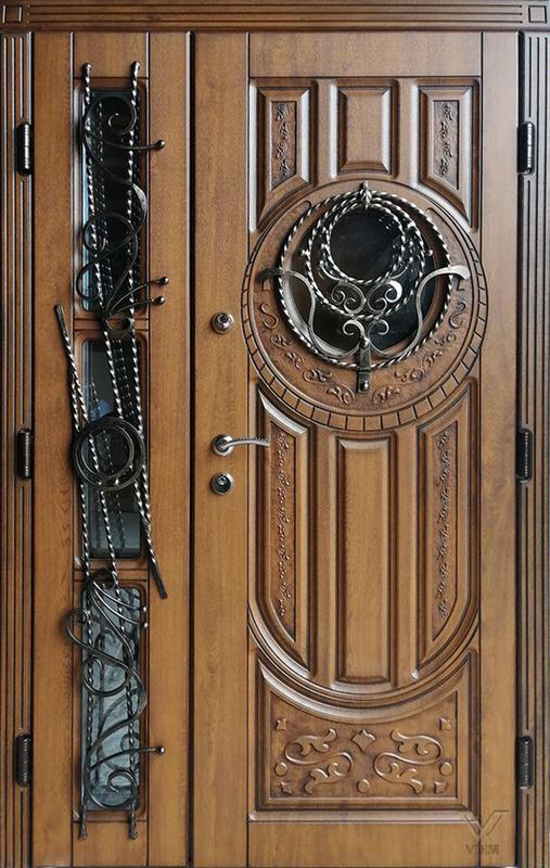 Двері вхідні, МДФ, 1200x2050, зовнішні, ліві, №1090568