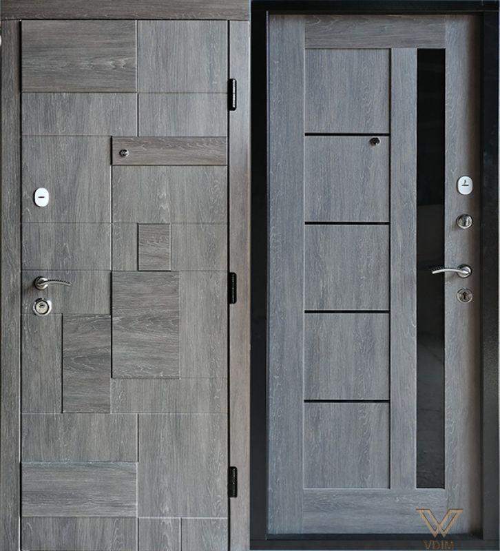 Двері вхідні, МДФ, 860x2050, внутрішні, праві, №6200632