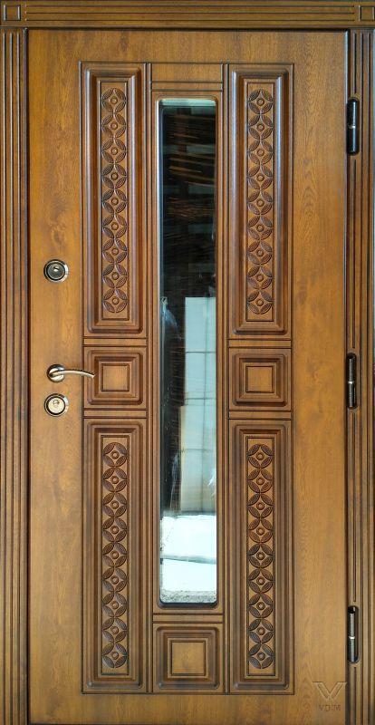 Двері вхідні, МДФ, 960x2050, зовнішні, праві, №1190086