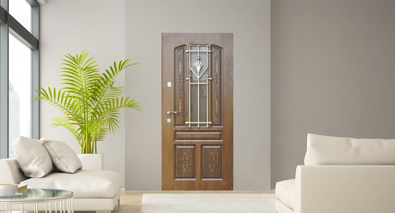 Двері вхідні, однополі