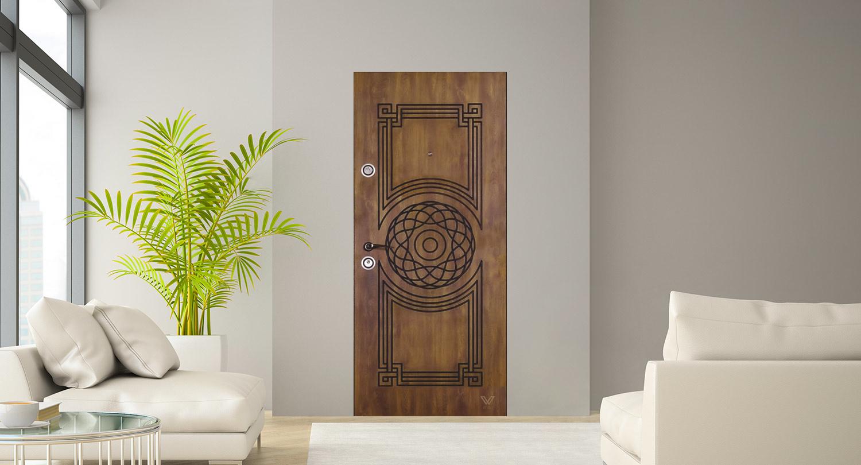 Двері вхідні, однополі,