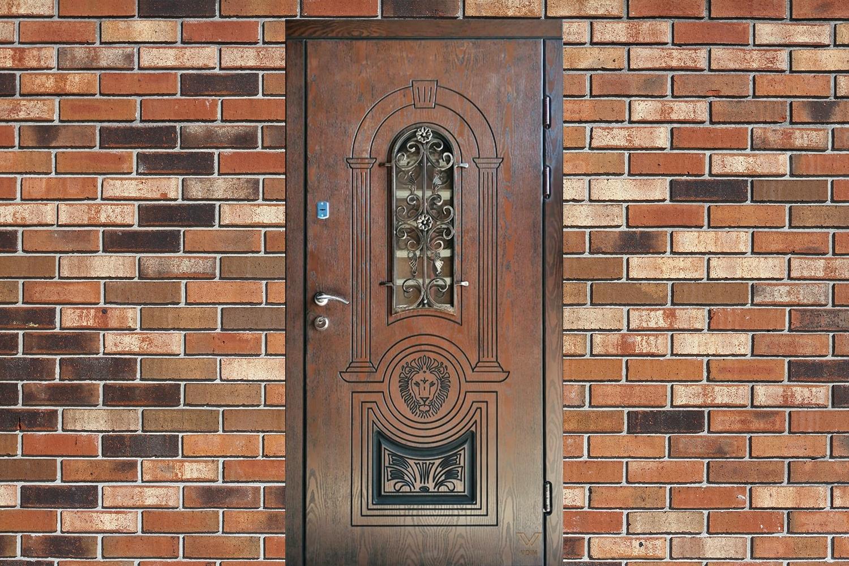 Броньовані двері з пластиковими накладками