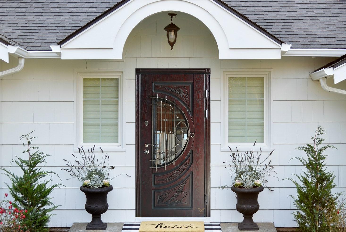 Двері вхідні металеві, полімерні